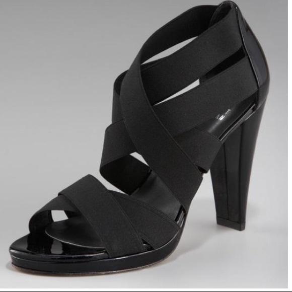 9f8ca806af0 Stuart Weitzman Elastic Strappy Heels 7.5